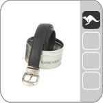 kangaroo leather belts for men B9598